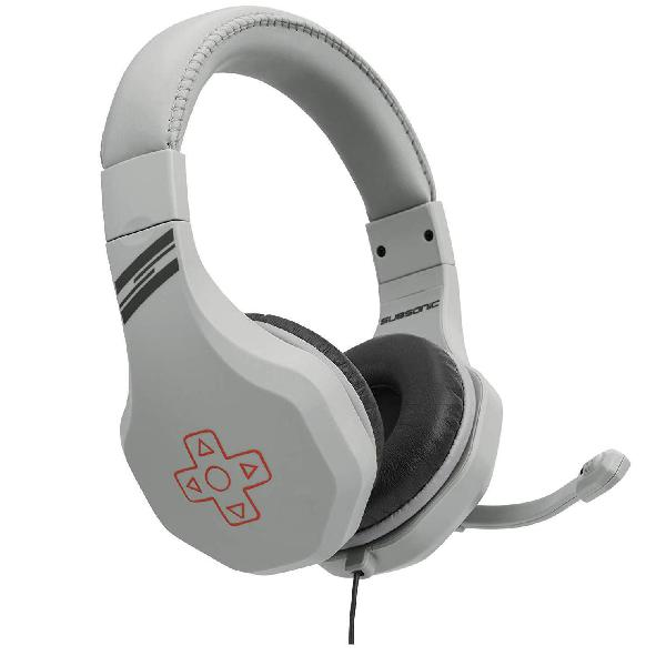 Cascos gaming micrófono subsonic retro gaming headset