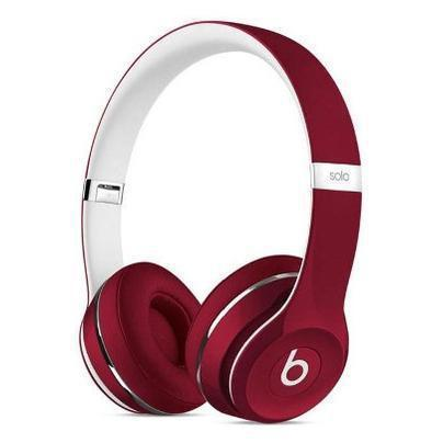 Cascos micrófono beats by dr. dre solo 2 luxe red