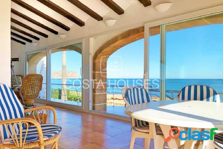 ᗤ VILLA FRENTE AL MAR en Javea | Villa Mediterránea Primera Línea de Playa | SEAFRONT LUXURY VILLA 1