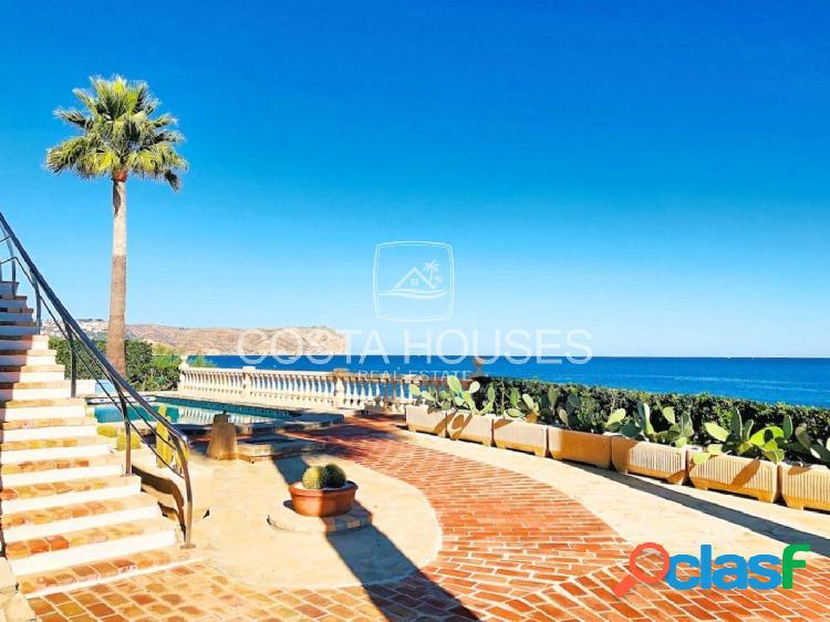 ᗤ VILLA FRENTE AL MAR en Javea | Villa Mediterránea Primera Línea de Playa | SEAFRONT LUXURY VILLA 2