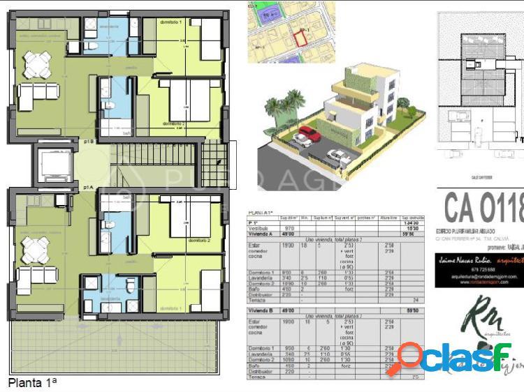 Proyecto para un edificio en venta en son ferrer, calviá, inmobiliaria mallorca puro agents.