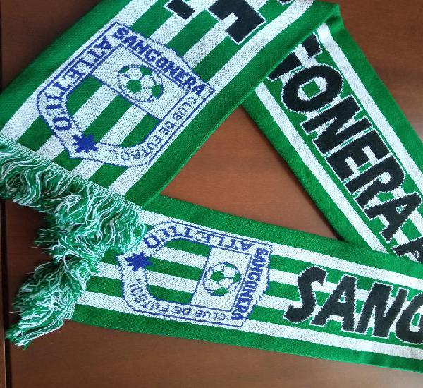 Atletico sangonera football futbol bufanda futbol scarf