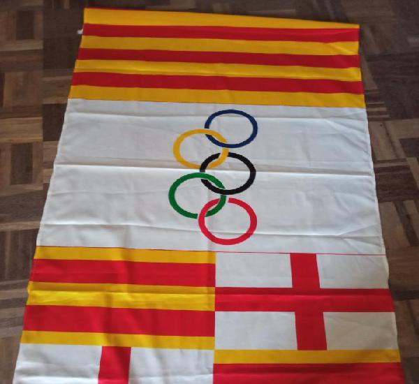 Barcelona 92 olimpic games barna 92 flag bandera bufanda