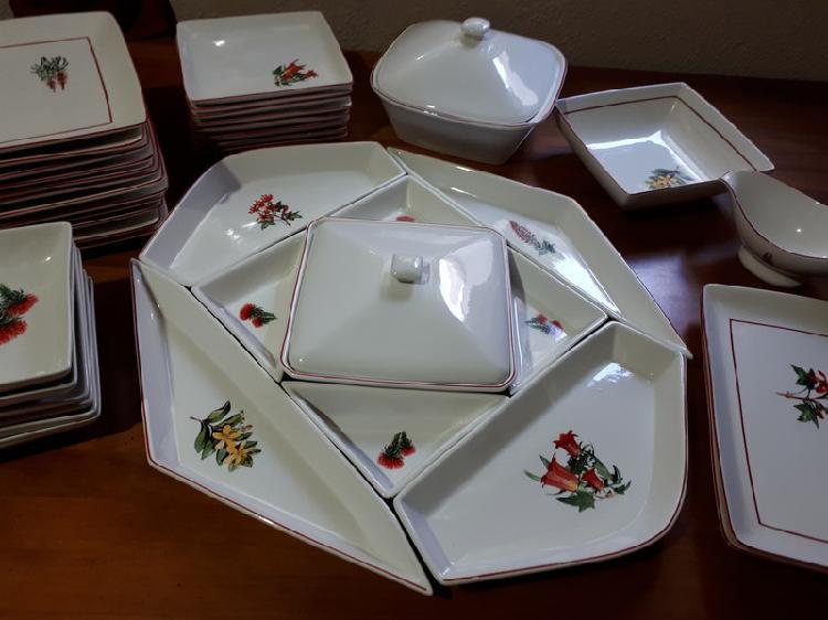Vajilla de porcelana 40 piezas