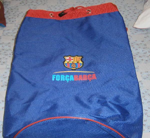 Bolsa mochila del club de futbol barcelona sin usar