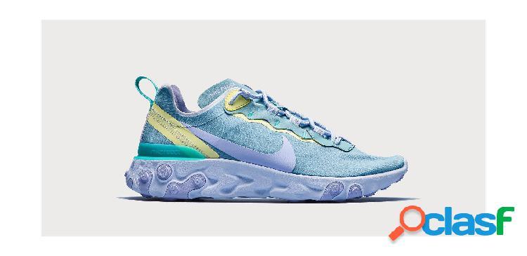 Nike W Nike React Element 55 - Talla: 36.5 - Zapatillas Nike Para Mujer