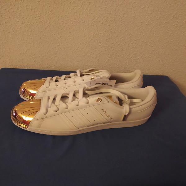 Adidas superstar metal toe,talla 38