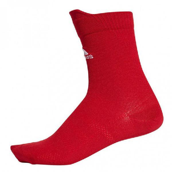 Calcetines adidas alphaskin lightweight crew red