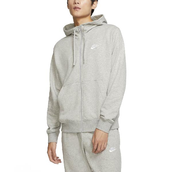 Nike sportswear club sudadera de tenis hombre dark grey