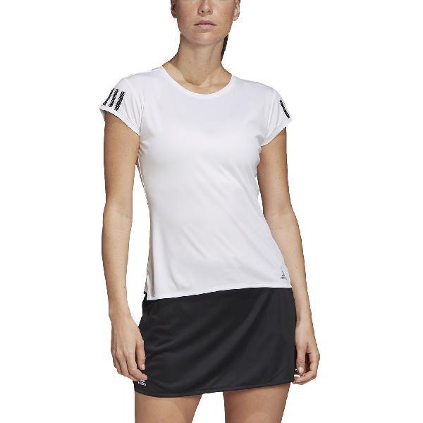 Adidas club 3 stripes camiseta de tenis mujer