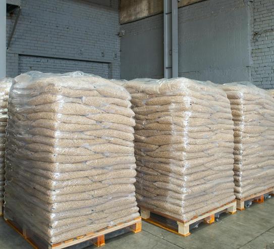 Pellets de madera de calidad certificada