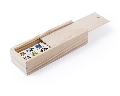 Dominó kelpet 28 piezas madera