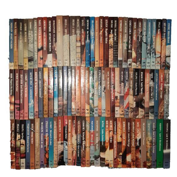Biblioteca salvat de grandes biografías.