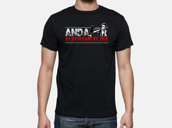 Camiseta anda, alégrame el día