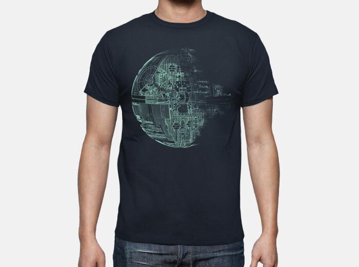 Camiseta estrella de la muerte green