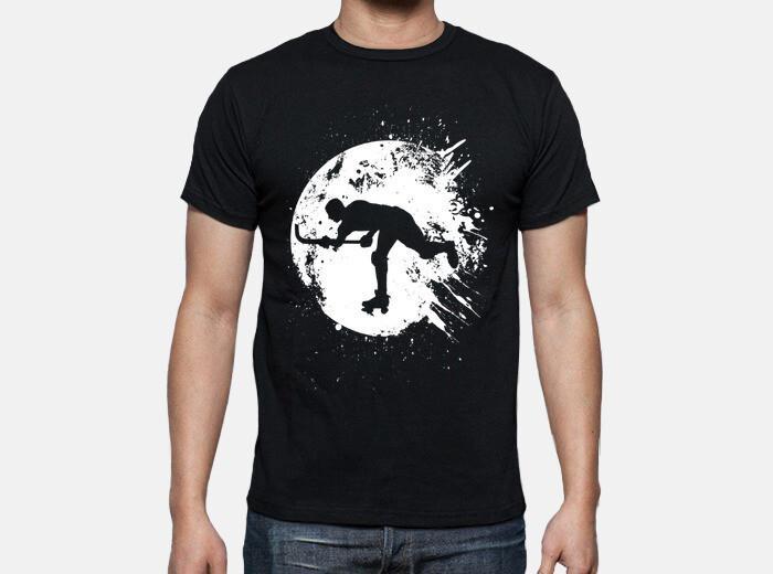 Camiseta hockey patines luna