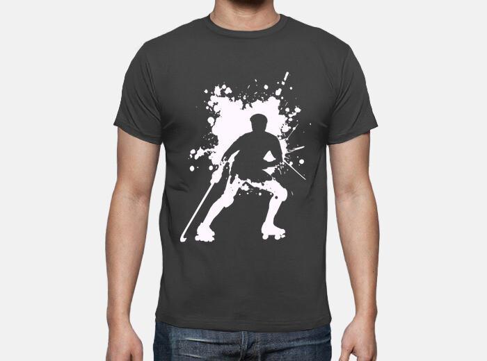Camiseta hockey patines splatter