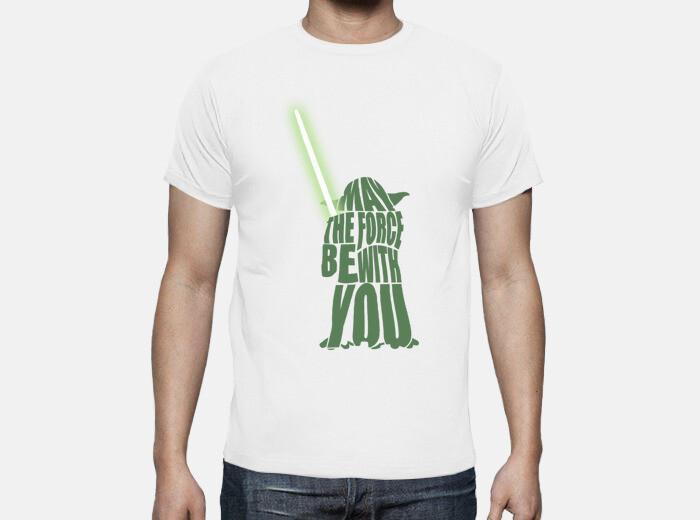 Camiseta yoda star wars