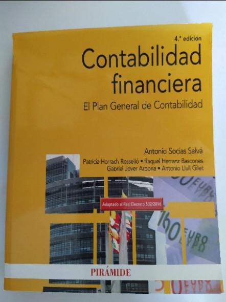 Contabilidad financiera: el plan general de contabilidad