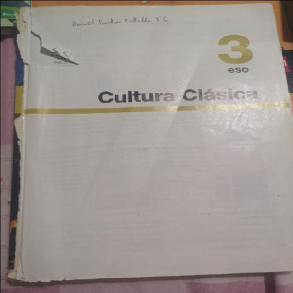 Cultura clásica 3°eso