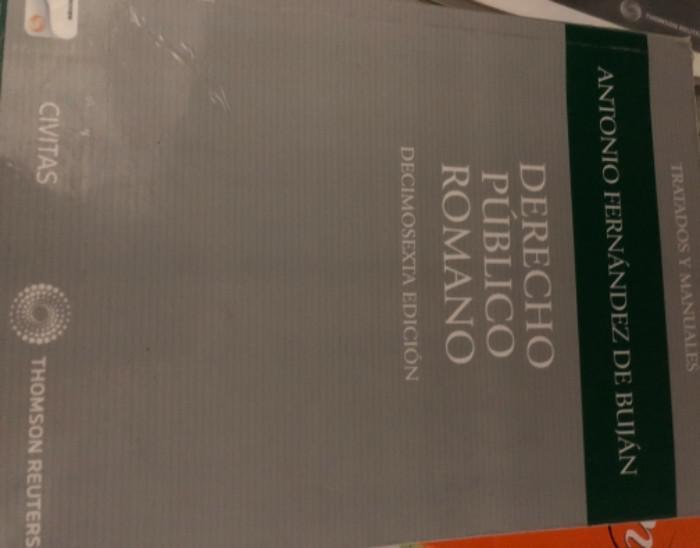 Derecho público romano (papel + e