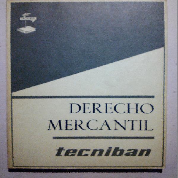 Derecho mercantil.