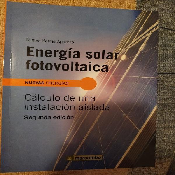 Energía solar fotovoltáica: cálculo de una instalación