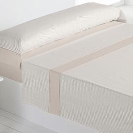 Juego sábanas 100% algodón carla beige