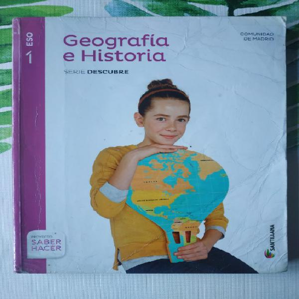Nuevo geografía e historia 1º eso santillana