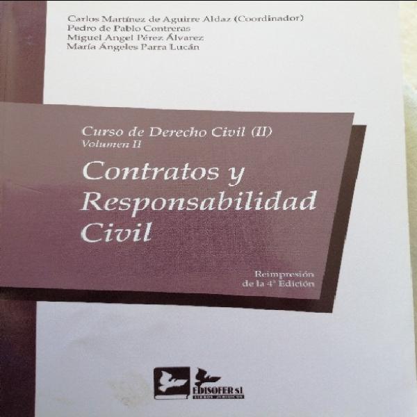 Contratos y responsabilidad civil