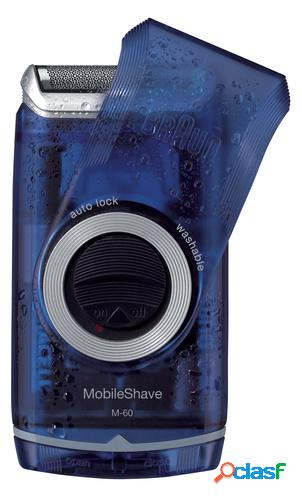 Braun afeitadora mobileshave m-60