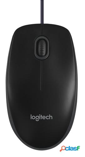 Logitech ratón b100 negro