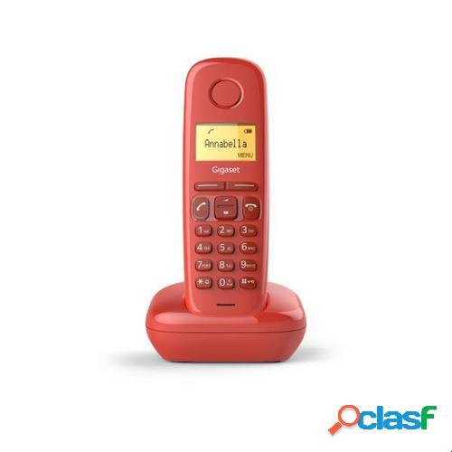 Gigaset teléfono a17 rojo