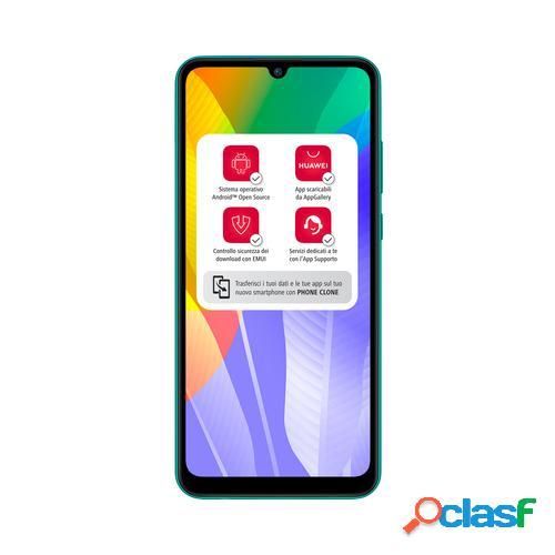 "Huawei Y6p 16 cm (6.3"") 3 GB 64 GB SIM doble 4G MicroUSB Verde Android 10.0 Servicios móviles de Huawei (HMS, Huawei Mobile Services) 5000 mAh"