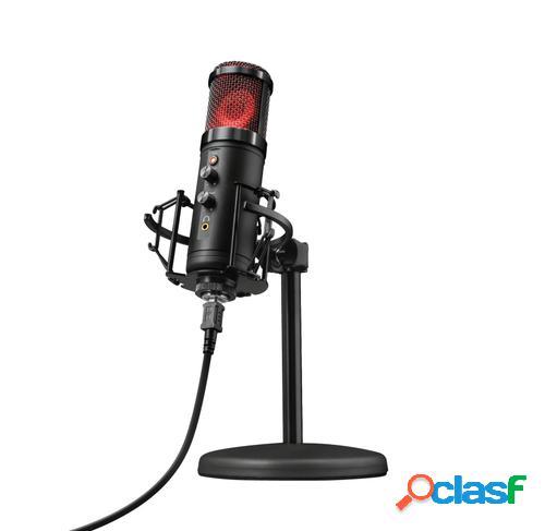 Trust gxt 256 exxo micrófono para pc negro