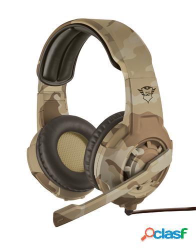 Trust gxt 310d radius auriculares diadema camuflaje