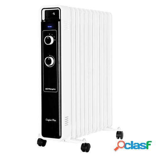 Orbegozo RJ 2500 calefactor eléctrico Radiador de aceite eléctrico Interior Blanco 2500 W