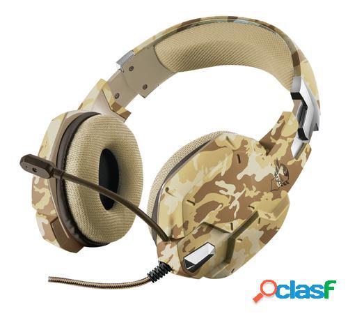 Trust gxt 322d carus auriculares diadema camuflaje