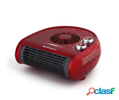 Orbegozo FH 5033 Ventilador eléctrico Interior Negro, Rojo 2500 W