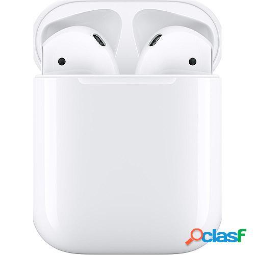 Auriculares inalámbricos apple airpods v2 con micrófono - mv7n2ty/a