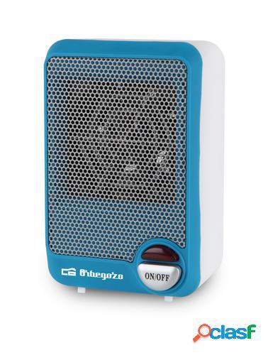 Orbegozo FH 5001 calefactor eléctrico Azul, Blanco 600 W