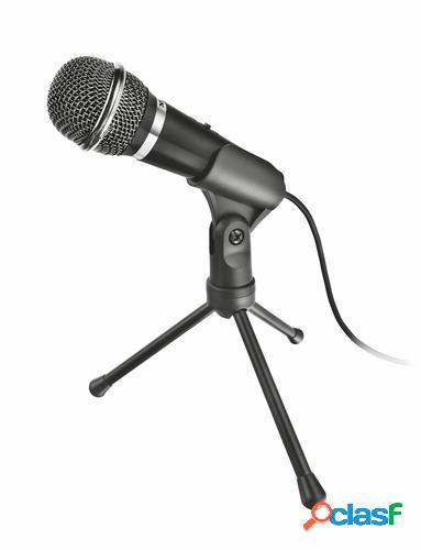 Trust 21671 micrófono micrófono para pc negro