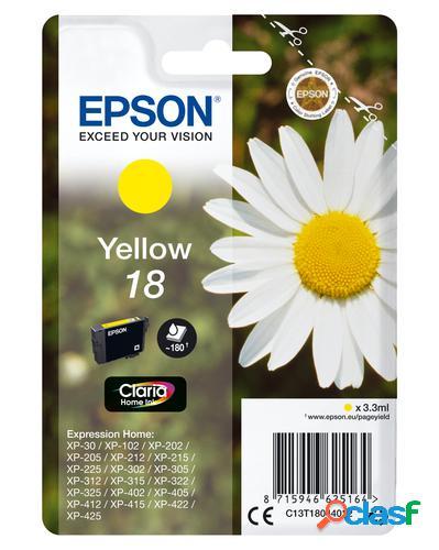 Epson daisy cartucho 18 amarillo