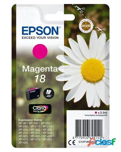 Epson daisy cartucho 18 magenta