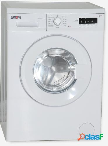 Rommer smart 1006 lavadora independiente carga frontal blanco 66 kg 1000 rpm a+++