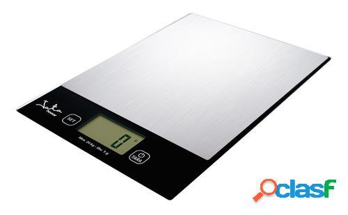 Jata 780 báscula de cocina báscula electrónica de cocina negro, plata