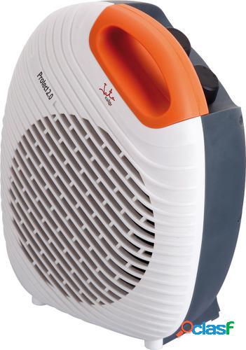 Jata tv64 calefactor eléctrico ventilador eléctrico gris, naranja, blanco 2000 w