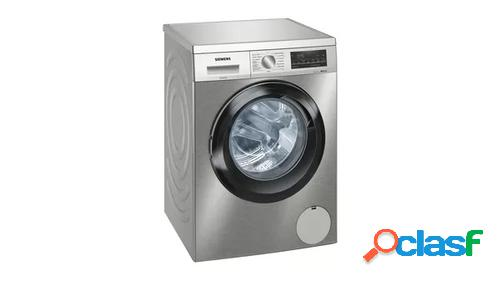 Siemens iq500 wu12ut7xes lavadora independiente carga frontal acero inoxidable 9 kg 1200 rpm a+++