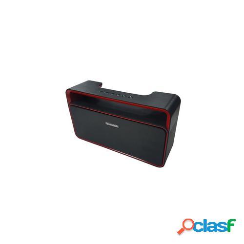 Sunstech spubt900 12 w altavoz portátil estéreo negro, rojo