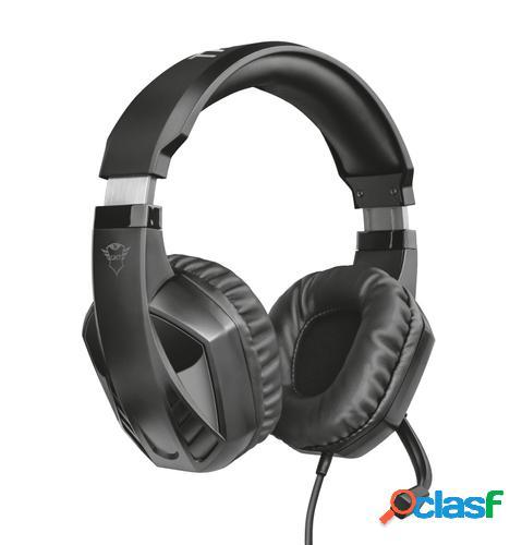 Trust gxt 412 celaz auriculares diadema negro conector de 3,5 mm